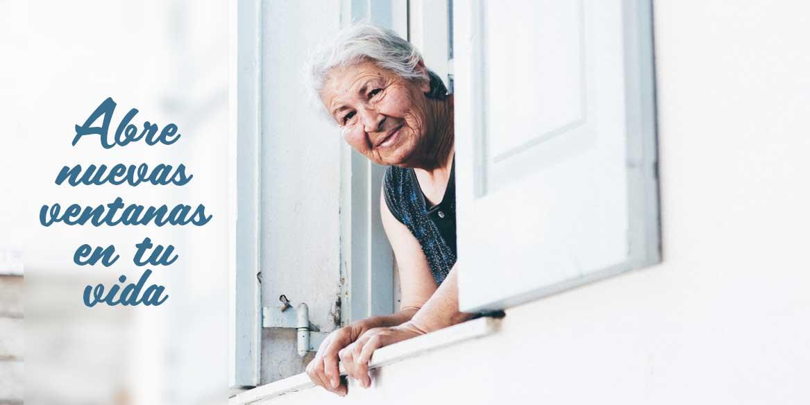 Abre nuevas ventanas en tu vida