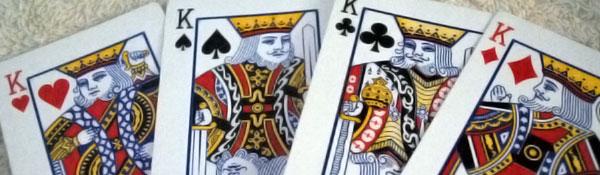 reyes de la baraja francesa