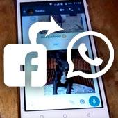 Cómo compartir una foto de Facebook por WhatsApp