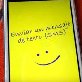 enviar mensajes con el celular